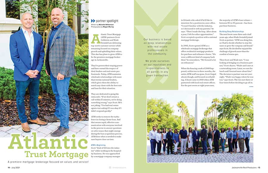 Partner Spotlight: Atlantic Trust Mortgage flyer page image